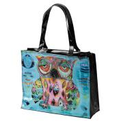 Allen Designs Cat and Owl D129 Owl Vinyl Bag