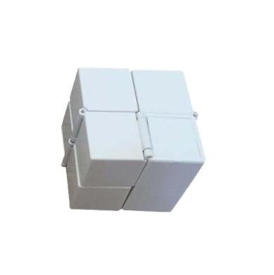 Sinfu NEW fashion Luxury Infinity Cube Mini For Stress Relief Fidget Anti Anxiety Stress Funny (E)