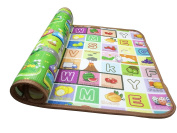 Garwarm Baby Thickness Play Crawling Activity Mat Playmat for Indoor and Outdoor,71×47×2cm
