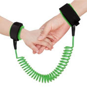 U-pick Child Adjustable Wrist Link Safety Strap Anti Lost Wrist,Safe Skin Friendly Anti Pricking Cotton Wrist Straps for Babies Kids Toddlers Runners with 1.8m