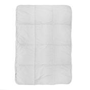 Tadpoles Toddler Comforter, Grey, One Size