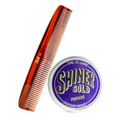 Shiner Gold Psycho Set- Pomade and Comb