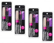 Browscara Plus Treat +Tint, with Conditioning Brow Serum and Tinted Brow Gel, Blonde, 4 pk