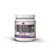 Pure Nutrition USA Bcaa Blast Powder Branched Chain Amino Acid Instantized Sports Supplement 5000mg 500/250 Grammes 38/77 Servings Men Women Great Flavours