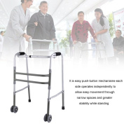 Medical Equipment Health Care Drive Foldable Adjustable Old Walking Aid Walker