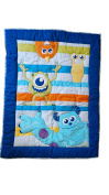 Disney Monsters At Play - Crib Quilted Applique Comforter Only - Boys - Sulley - Mike