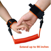 Child Safety Harness, Anti Lost Safety Hook and loop Wrist Link for Toddlers & Kids, Keeps Toddler Close and Safe, Anti Lost Wristband by Lethum