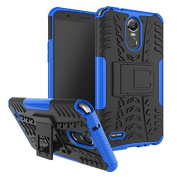 LG Stylo 3 Case,LG Stylus 3 case, ARSUE [Premium Rugged] Hybrid Heavy Duty Armour [Shock Resistant] Dual Layer with Kickstand Case for LG Stylo 3 / LG Stylo 3 Plus - Blue