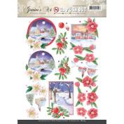 Jeanine's Art Christmas Classics 3D Push Out SB10173 Paper Tole 3-D Decoupage