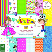 Whiz Kids by Rachel Ellen - Card Craft Premium Paper Pad 20cm x 20cm