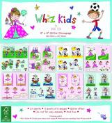 Whiz Kids by Rachel Ellen - Card Craft Decoupage Premium Paper Pad 20cm x 20cm
