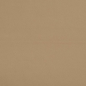 Light Cashmere Beige Leather Grain Plain Solid Vinyl Upholstery Fabric by the yard