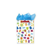 Gift Boxes Patterned XL Gift Bag