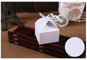 Wedding Decoration Folding DIY Butterfly wedding candy box for Ideas regalos de boda wedding favours and gifts Boxes