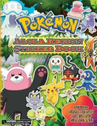 Pokemon Alola Region Sticker Book