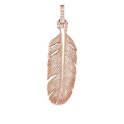 Angel Caller Pendant Spring 925 silver partially gold-plated – Design) Mr