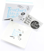 Bright Side Teacher Bits and Bobs Coin Bone Ceramic Tray Gift boxed