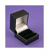Black Leatherette Ring Box
