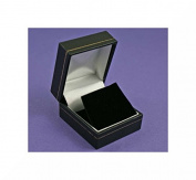 Black Leatherette Earring Box