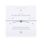 Joma Jewellery Girls A Little Friends Forever Friendship Bracelet Lilac