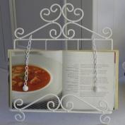 White Tablet/Book Holder