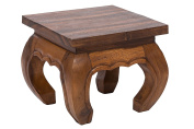 Opium Coffee Table 30x25cm, from solid wood