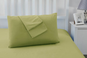 Set of 2 Luxury Non Iron Soft Microfibre Pillowcases by Sonia Moer