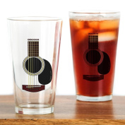 CafePress - Acoustic Guitar Pint Glass - Pint Glass, 470ml Drinking Glass