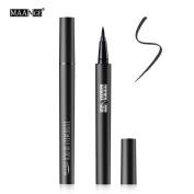Eye Liner Pencil , Hunzed Waterproof Beauty Makeup Cosmetic Eye Liner Pencil Black Liquid Eyeliner Pen Beauty