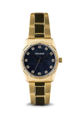 Zadig & Voltaire Zvf221 Black Dial/gold Stainless Steel Bracelet Watch Watch For Unisex 1 Pc