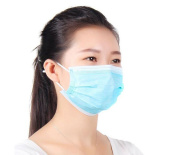 50Pcs Blue Disposable Earloop Dust Protective Face Mask Surgical Dust Filter Mouth Cover Beauty Nail Salon Face Mask