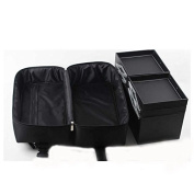 Professional Cosmetics Case 4 Trays Makeup Tool Travel Accessory Detachable Oxford Fabric Multilayer Cosmetic Box