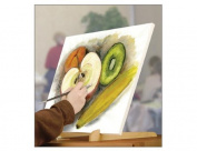 TABLETOP EASEL The Original Overby Portable Compact Easy Carry Pocket Art Easel for Children Teen & Adult Painters. Rubber Foot Pads Hold and Display Any Canvas Perfectly Stable