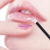 Kingahard 200PCS Disposable Lip Brushes ,Lipstick Gloss Cotton Wands Applicator Makeup Tool