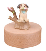 Lovely Puppy Musical Box, Perfect Gift for Christmas/Birthday/Valentine's day