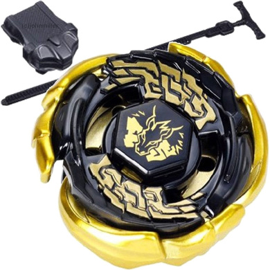 Acrim Gold Galaxy Pegasus/Pegasis Black Hole Sun BB-43 Masters 4D High Performance with Launcher Battling Top Game