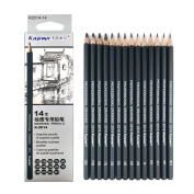 Best Quality 14pcs/set 12B 10B 8B 7B 6B 5B 4B 3B 2B B HB 2H 4H 6H Graphite Sketching Pencils Professional Pencil Set for Drawing