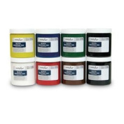 Handy Art Water-Soluble Block Ink Set - Primary Ink Set of 8 240ml - Arts & Crafts Materials - 9731712