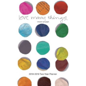 """""""Love Many Things"""" Vincent Van Gogh 2 Year Monthly Pocket Planner 2018-2019"""