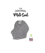 """AS SEEN ON SHARK TANK The Original Milk Snob Infant Car Seat Cover and Nursing Cover Multi-Use 360° Coverage Breathable Stretchy """"Cosmo"""""""