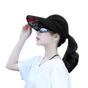 Creazy Women Summer Sun Hats Sun Visor Hat Sun Hats With Big Heads Beach Hat