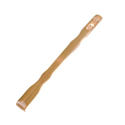 1 Pcs Bamboo Back Scratcher Relieve Itching Self-Massager With Double Ball Rolling Massage By DINGJIN