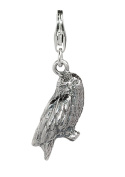 Official Harry Potter Jewellery Hedwig Owl Clip on Charm