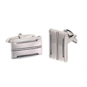 Phebus 85/0012 Men's Cufflinks Stainless Steel Twisted Cord