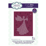 Creative Expressions Craft Die CED3088 Sue Wilson Festive Collection - 2017 Christmas Angel