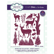 Creative Expressions Craft Die CED3095 Sue Wilson Festive Woodland Collection - Forest Animals