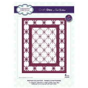 Creative Expressions Craft Die CED3092 Sue Wilson Festive Collection - Twinkle Star Frames