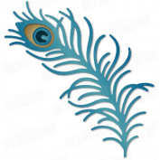 Dee's Distinctively Peacock Feather IME-231 Metal Cutting Dies