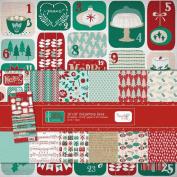 Hazel & Ruby Very Merry Christmas 12x12 Paper & Sticker Kit VM324