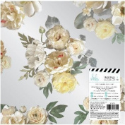 Heidi Swapp Magnolia Jane Acetate 30cm x 30cm -Floral